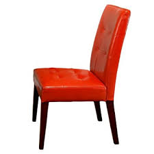 Amazon Best Selling Burnt Orange Tufted Dining Chair 2 Pack