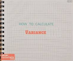 How To Calculate Variance | Sample Variance Calculation