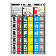 Heart Rate Activity Chart Heart Rate Target Chart