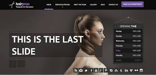 Hair Saloon Websites 16 Hair Salon Website Templates Themes Free Premium Templates