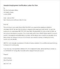 Employee Verification Letter Gplusnick