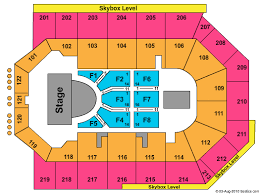 Citizens Business Bank Arena Ca Seating Chart