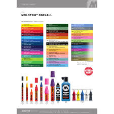 Molotow One4all Color Chart Molotow One4all 327hs Markers