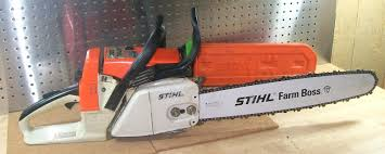 stihl chainsaws farm boss. stihl chainsaw pole pruner 026 with 18 farm boss bar chain tested runs great whats it worth on extension chainsaws