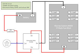 wiring up a fuse block yamaha grizzly atv forum Blue Sea Fuse Block Wiring Diagram click image for larger version name fuseblock wiring jpg views 309 size Blue Sea Fuse Block Install
