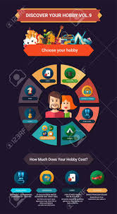 Informational Poster Sample Layout Choose Your Hobby Info Poster Brochure Cover Template Layout