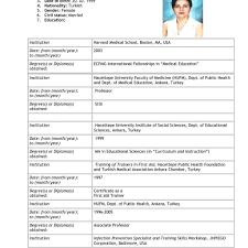 Resume For Apply Job 24 Cv Application For Job Emmalbell 21