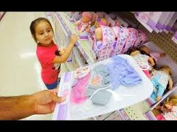 Baby Doll Clothes At Walmart Fascinating Shopping With Baby Alive Poops And Pees Doll And With A Reborn Baby