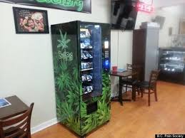 Marijuana Vending Machine Locations Best Canada's First Cannabis Vending Machine Starts Operation