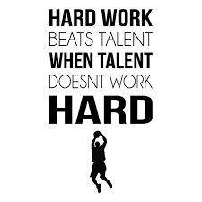 Aliexpress Buy Hard Work Sports Inspirational Quotes Wall Simple Athletic Inspirational Quotes