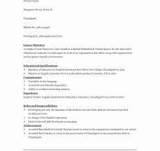 Student Resume Format Doc Resume Template Easy Http Www