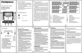 Sman340 3 Port Digital Manifold Manualzz Com