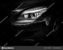 Front Light Front Light Iconic Bmw E60 Sports Car Stock Editorial