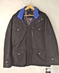 mens black winter coat new fog 3 in 1 heavyweight anorak jacket winter coat parka black
