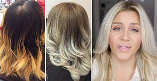 repair orange hair following bleaching