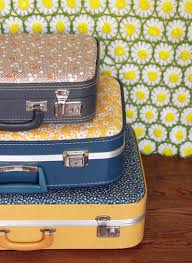Diy Florar Suitcase By Elsie Larson