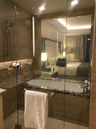 the langham chicago bathtub and shower all rolled up in one you can