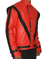 michael jackson thriller vintage black leather jacket 1