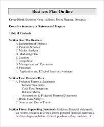 purchase proposal templates restaurant business proposal template proposal outline template 9 word pdf format