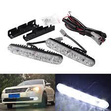 Gratis Verzending 2 Stkspartij Auto Styling Auto Led Lamp Voor En