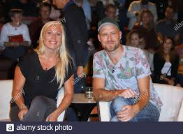 Maria and Thor Braarvig,Markus Lanz Talkshow from Studio  Stahltwiete,Hamburg,24.09.201 Stock Photo - Alamy