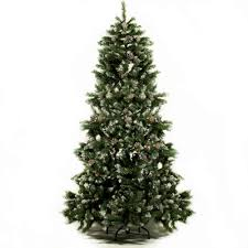 Festive Lights 6ft Luxury Green Artificial Christmas Tree With Snow Tips