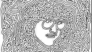 Psychedelic Coloring Page Cute Psychedelic Coloring Pages Artistic