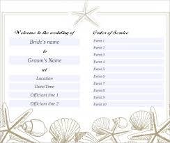 Wedding Programs Template Free 72 Wedding Program Template Free Word Pdf Psd Documents