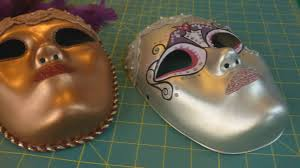 Plastic Masks To Decorate How to Create a Venetian Inspired Mask YouTube 13