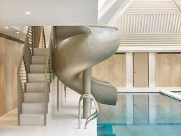 pool house interior design. Modren Pool Rafael De Crdenas Adds Pool House With Stripy Patterned Ceiling And  Symmetrical Slides To English Country  And Pool House Interior Design
