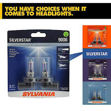 Sylvania Headlight Bulb Comparison Chart 9006 Silverstar Halogen Bulb Pack Of 2