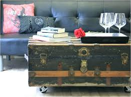 old trunk coffee tables decoration table trunks as new antique at pine