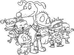 Small Picture How to Draw the Rugrats Characters Coloring Page Color Luna