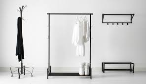 Wall Mounted Coat Rack Ikea Racks Stands Ikea Pertaining To Clothes Hanger Rack Low Cost 87