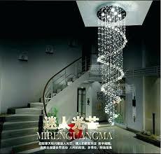 large foyer chandelier