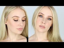 makeup tutorial for fair skin contouring lips bronze eyes lauren curtis
