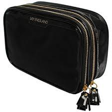lily england makeup bag organiser make up storage bag black cosmetic case