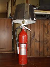 picture of fire extinguisher lamp