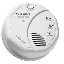 first alert battery operated carbon monoxide smoke detector works with iris
