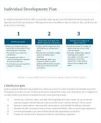 Employee Professional Development Plan Template