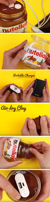 nutella phone charger easy summer crafts for teens to make diy projects for teens