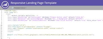 How to Code a Responsive Landing Page Template in Marketo