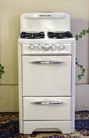 white porcelain o keefe merritt apartment size vintage antique o keefe merritt stove 4 burners oven and broiler safety system