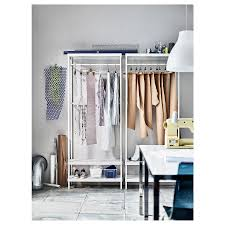 diy ikea clothes rack with pvc pipe home design ideas decorative garment shelves l metal rolling