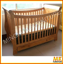 wooden baby cradle pine 3 in 1 wooden baby crib children bed from china factory direct