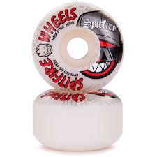 spitfire 52mm. spitfire streetz classic shape skateboard wheels - 52mm