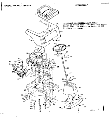 similiar sears mower parts diagram keywords craftsman sears riding mower wiring diagram parts model 502256118