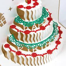 Happy Birthday Card Birthday Cake Papercraft 3d Pup Up Greeting