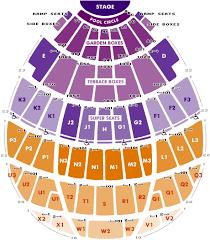 Hollywood Bowl Seating Chart In 2019 Hollywood Bowl
