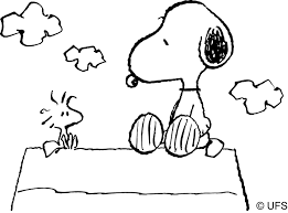 Small Picture Snoopy Coloring Pages With itgodme